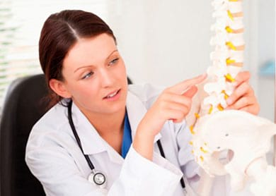 Протрузия межпозвонкового диска грудного отдела